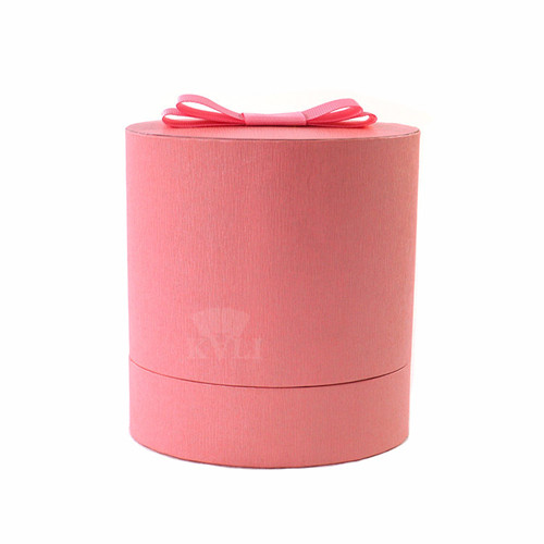 pink oval perfume box wholesale
