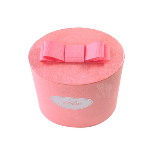pink oval perfume box supplier