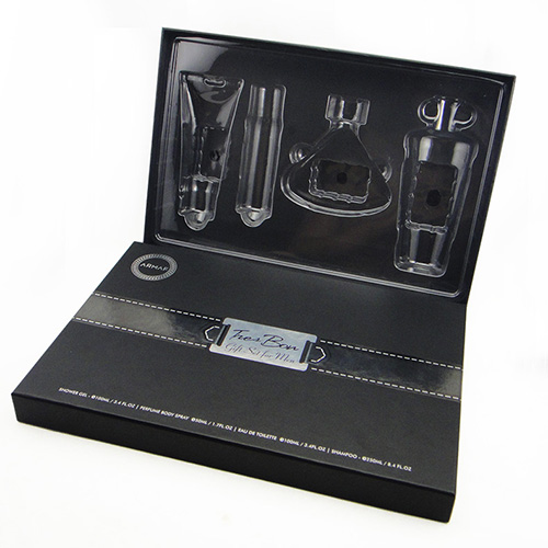 Wholesale empty cosmetic gift set box  (1)