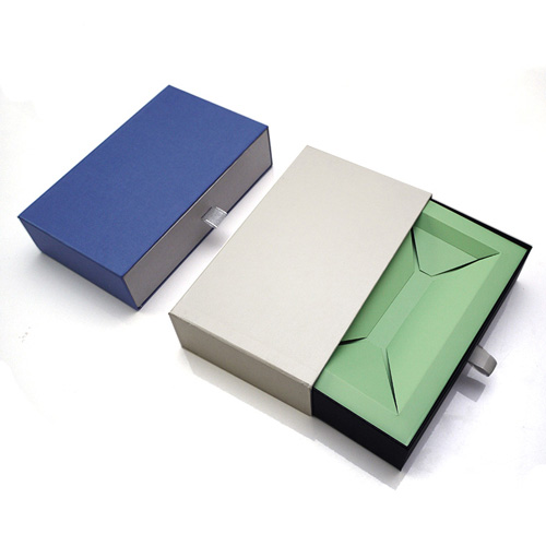 Cardboard sliding gift drawer box packaging (1)