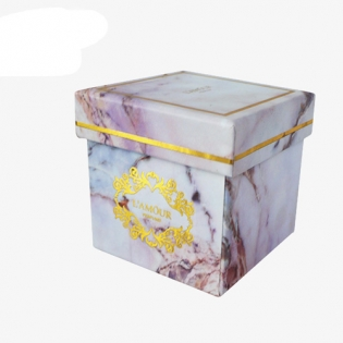 Marble Gift Box Packaging Manufacturer
