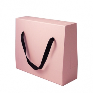 Rigid Cardboard Handle Box Bag