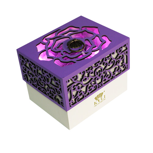 paper laser cut favor box with lid (2)