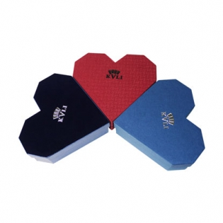 Love Heart Shaped Paper Gift Box