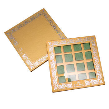 Metallic Gold Eyeshadow Palettes
